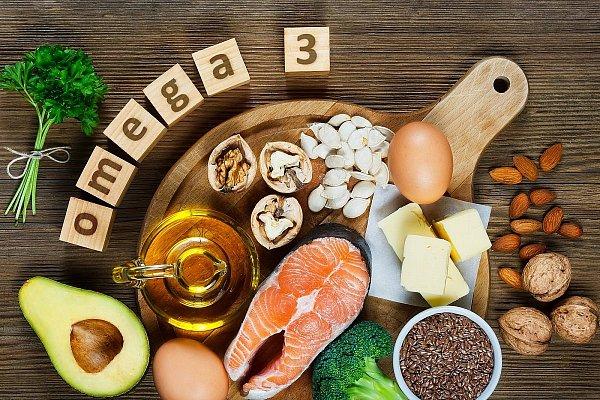 Hľadajte omega-3 mastné kyseliny