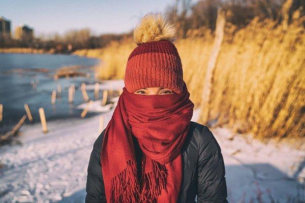 Pleť sa lieči v zime